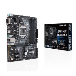 ASUS PRIME B360M-A soc.1151 B360 DDR4 mATX M.2 USB3.1 HDMI DVI VGA 90MB0WQ0-M0EAY0