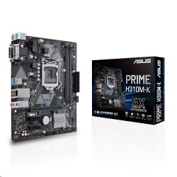ASUS PRIME H310M-K soc.1151 H310 DDR4 mATX USB3 DVI 90MB0X80-M0EAY0