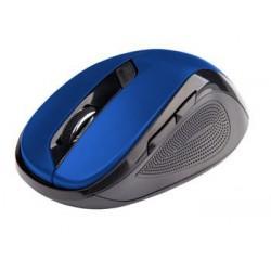 C-TECH myš WLM-02, čierno-modrá, bezdrôtová, 1600DPI, 6 tlačidiel,...