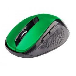 C-TECH myš WLM-02, čierno-zelená, bezdrôtová, 1600DPI, 6 tlačidiel,...