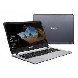 "ASUS X507UA-EJ054T Intel i3-6006U 15.6"" FHD matny UMA 4GB 1TB WL Cam Win10 šedý"
