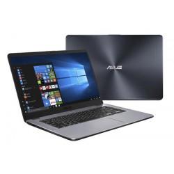 "ASUS VivoBook X505BA-EJ163T AMD A6-9220 15.6"" FHD matny UMA 4GB 1TB WL Cam Win10 CS siva"