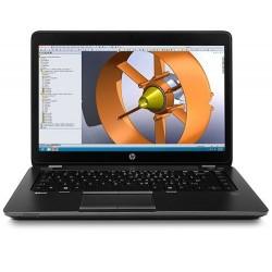 HP ZBook 14, i5-4300U, 14 HD+, M4100/1GB, 8GB, 500GB, WL, BT, Fpr, W7Pro F4X79AA#BCM