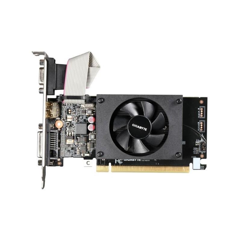 Gigabyte GeForce GT 710, 1GB DDR3 (64 Bit), HDMI, DVI, D-Sub GV-N710D3-1GL