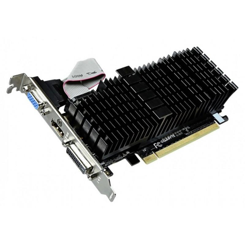 Gigabyte GeForce GT 710, 1GB DDR3 (64 Bit), HDMI, DVI, D-Sub, Low Profile GV-N710SL-1GL