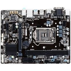 Gigabyte GA-H110M-S2H, H110, DualDDR4-2133, SATA3, HDMI, DVI, D-Sub, mATX