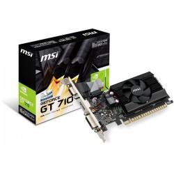 MSI GeForce GT 710 2GD3 LP, 2GB ,DDR3 ,PCI Express x16 ,DVI-D, HDMI