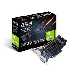 ASUS GeForce GT 730 2GB DDR3 low profile graphics card for silent HTPC build GT730-SL-2G-BRK-V2
