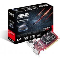 ASUS Radeon R7 240, 4GB GDDR5 (128 Bit), HDMI, DVI, D-Sub R7240-O4GD5-L