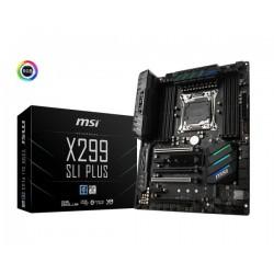 MSI X299 SLI PLUS, LGA2066, 8xDDR4, 2xM.2, 8xSATA3, 3xUSB3.1