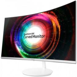 Monitor Samsung LC27H711QEUXEN, 27', WQHD, VA, Curved, white, Q-Dot, FreeSync