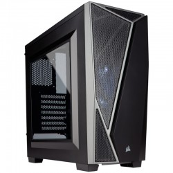 PC case Corsair Carbide Series SPEC-04 Windowed ATX Mid-Tower, Black/Grey CC-9011109-WW