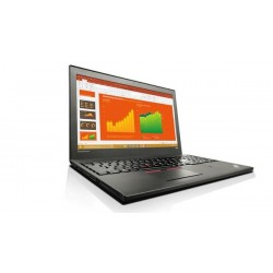 "Lenovo TP T560 i7-6600U 3.4GHz 15.5"" 3K IPS matny UMA 16GB 256GB SSD FPR W7Pro/W10Pro cierny 20FJ002TXS"