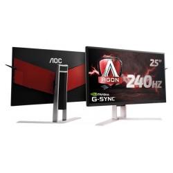 Monitor AOC AG251FG 25inch, TN, 1920x1080, 240Hz, 1ms, HDMI, USB, DP