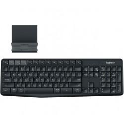 Logitech® K375s Multi-Device Wireless Keyboard and Stand Combo 920-008182