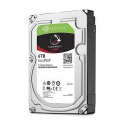 Seagate IronWolf HDD 3.5' 6TB SATA3 7200RPM 256MB ST6000VN0033