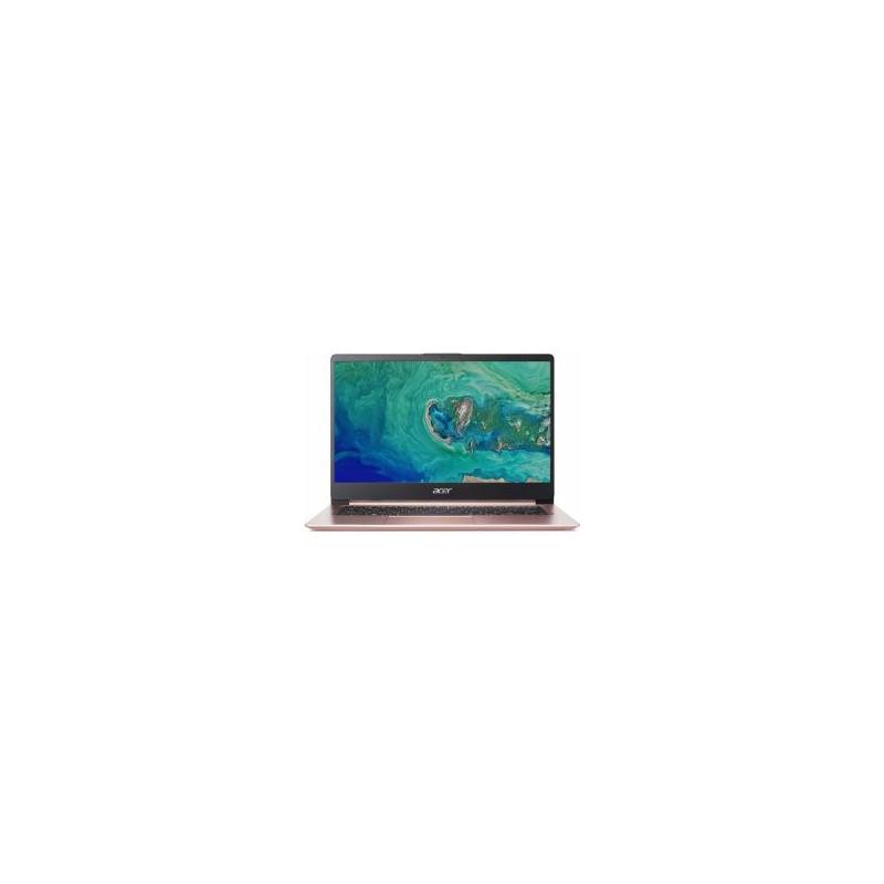 """ACER Swift 1 SF114-32-P6JZ Pentium-N5000(2.70GHz) 4GB 128GB 14"""" FHD matný integr.graf. Win10 ružový NX.GZLEC.001"""