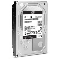 Internal HDD WD Black 3.5' 6TB SATA3 7200RPM 128MB WD6002FZWX