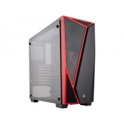 PC case Corsair Carbide Series SPEC-04 Mid Tower, 120mm, LED, Tempered Glass CC-9011117-WW