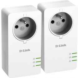 D-Link PowerLine AV2 1000 HD Gigabit Passthrough Kit DHP-P601AV/FR