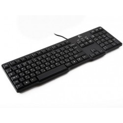 Logitech Keyboard K100 - Russian layout 920-003200