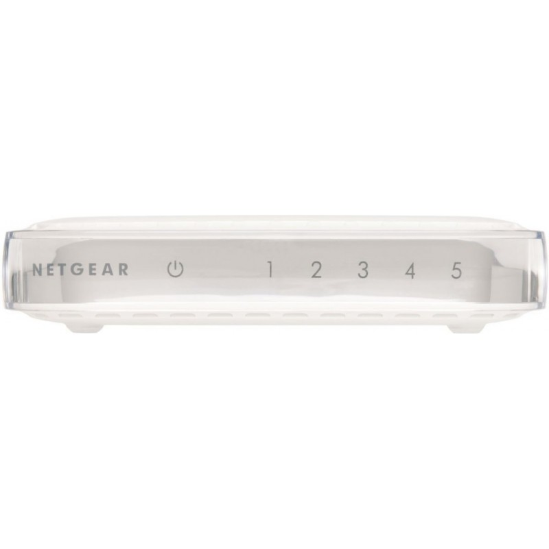 Netgear 5-Port Gigabit Desktop Switch Metal (GS305) GS305-100PES