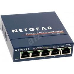 Netgear ProSafe Plus 5-Port Gigabit Switch, 2x PoE, 1x PoE PD (GS105PE) GS105PE-10000S