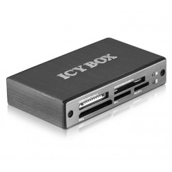 Icy Box External multi card reader, 6x card reader slots, USB 3.0 IB-869a