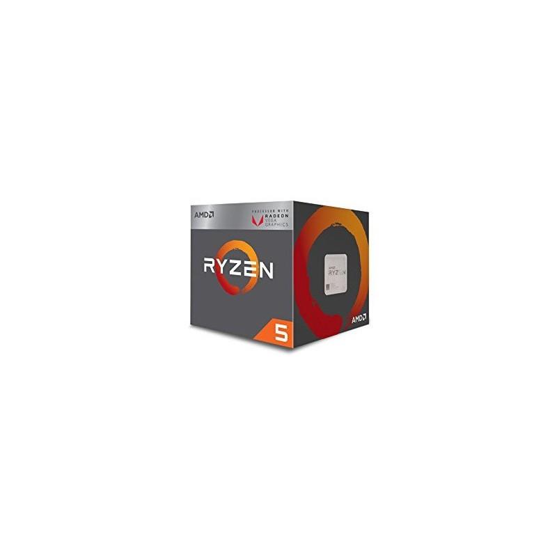 AMD Ryzen 5 2400G, RX Vega Graphics 3.6Ghz AM4 65W Wraith Steal cooler YD2400C5FBBOX