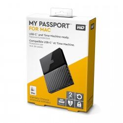 WD My Passport for Mac 2.5' externý HDD 2TB, USB 3.1 čierna Worldwide WDBLPG0020BBK-WESE