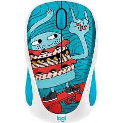 Logitech® Wireless Mouse M238 Doodle Collection - Skateburger - EMEA 910-005052