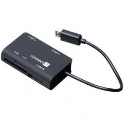 CONNECT IT CI-198 citacka + USB hub