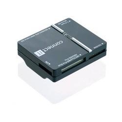 Connect IT čítačka kariet + SIM WAVE čierna CI-86