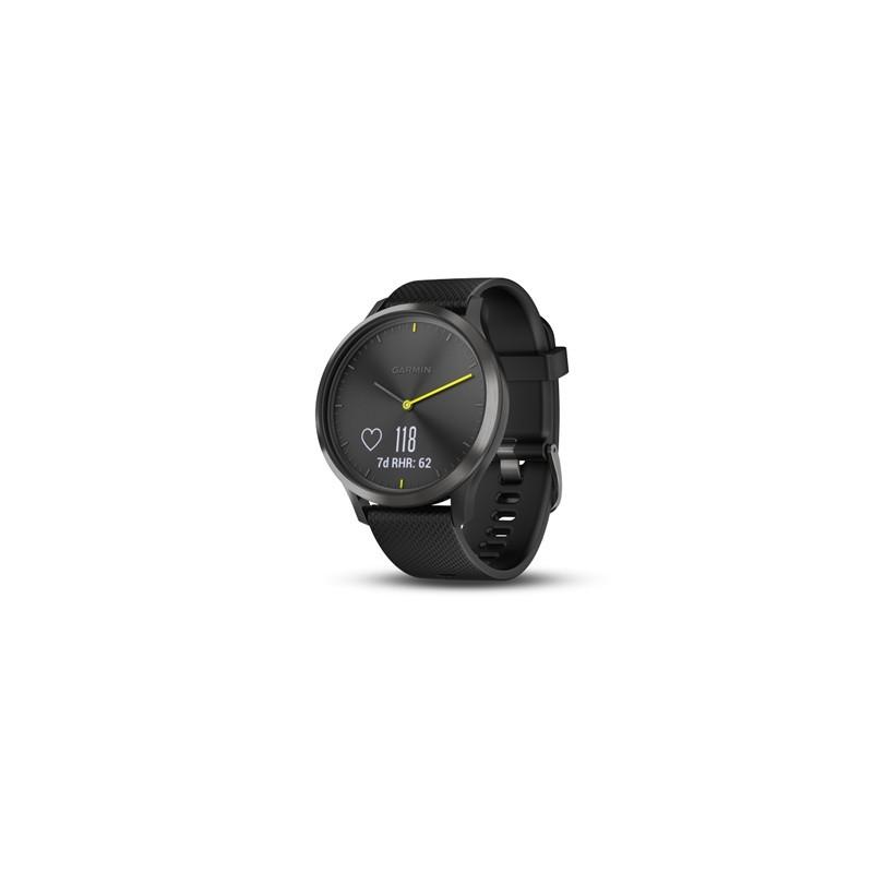 GARMIN Smart hodinky Vívomove HR Sport Blk L 010-01850-21