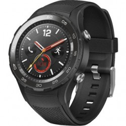 HUAWEI Watch W2 Black case + black belt, SIM ver. WA-WATCHW2BOM