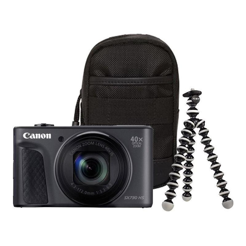 CANON PowerShot SX730 HS čierny Travel Kit 1791C016