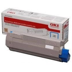 46507507 OKI Toner Cyan pre C612 6000 strán