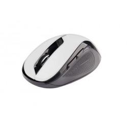 C-Tech myš WLM-02 čierno-biela, bezdrôtová, 1600DPI, USB. Nano...