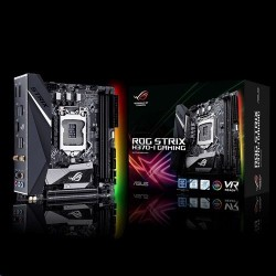 ASUS ROG STRIX H370-I GAMING soc.1151 H370 DDR4 mITX M.2 USB3.1 WIFI HDMI DP 90MB0WE0-M0EAY0