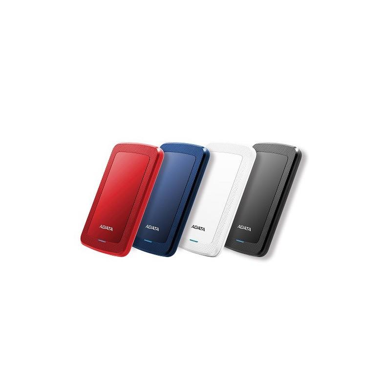 """A-DATA DashDrive™ Value HV300 2,5"""" external HDD 1TB USB 3.1 white AHV300-1TU31-CWH"""