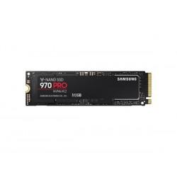 Samsung SSD 970 PRO Series 512GB M.2 PCIe, r3500MB/s, w2300MB/s...