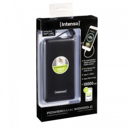 INTENSO SLIM Powerbanka 10000 mAh black 7332630