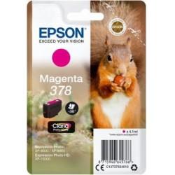 Atrament Epson magenta | 4.1ml| Claria Photo HD C13T37834010