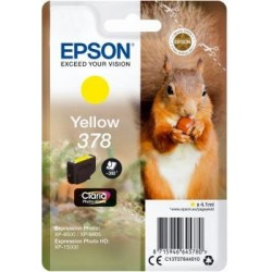 Atrament Epson yellow | 4.1ml | Claria Photo HD C13T37844010