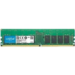 Crucial 16GB 2666MHz DDR4 CL15 SR x4 ECC Registered DIMM 288pin CT16G4RFS4266