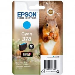 Ink Epson cyan RF+AM | 4.1ml| Claria Photo HD C13T37824010