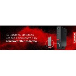 LENOVO P320 Tiny i7-7700 8GB 256GB SSD integrated Win10PRO cierny 3r OnSite 30C20023XS