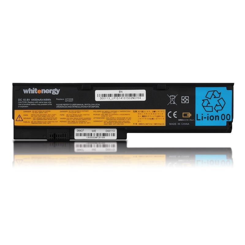 Whitenergy batérie pre Lenovo ThinkPad X200 10.8V Li-Ion 4400mAh 06437