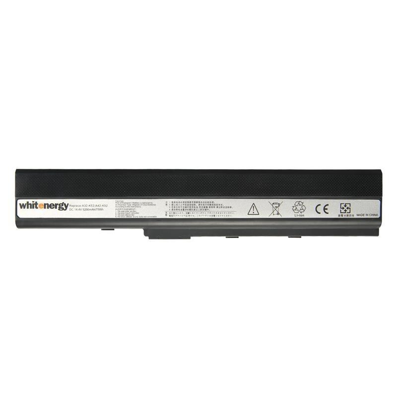 Whitenergy Premium batérie pre Asus A31-K52 14.4V Li-Ion 5200mAh 10338