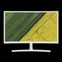 "Acer LCD ED242QRWI 23,6"" W VA LED/1920x1080/4ms/100M:1/250 nits/VGA/HDMI/Curved/Eco Display/FreeSync/White UM.UE2EE.001"